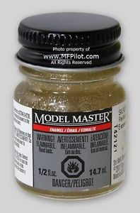 Model Master Car and Truck Enamel Paint Gloss Silver Glitter 278407