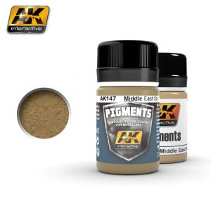 Middle East Soil Pigment by AK Interactive AKI 147