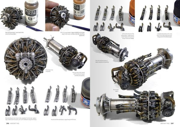 Engines Aircraft Scale Modelling FAQ BY AK Interactive AKI 276