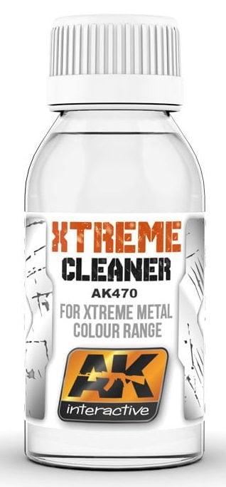 Xtreme Cleaner Thinner 100ml AK Interactive AKI 470