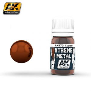 Xtreme Metal Copper Paint AK Interactive AKI 473