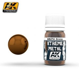 Xtreme Metal Bronze Paint AK Interactive AKI 474