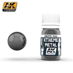 Xtreme Metal Steel Paint AK Interactive AKI 476
