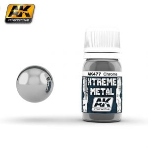 Xtreme Metal Chrome Paint AK Interactive AKI 477