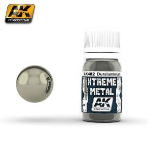 Xtreme Metal Duraluminium Paint AK Interactive AKI 482