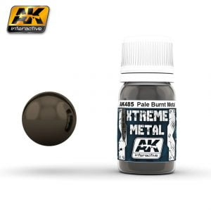 Xtreme Metal Pale Burnt Metal Paint AK Interactive AKI 485