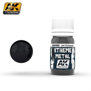 Xtreme Metal Jet Exhaust Metal Paint AK Interactive AKI 486