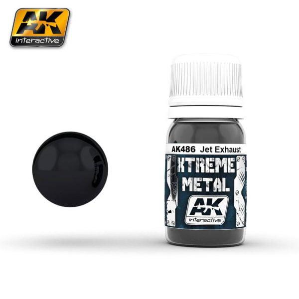 Xtreme Metal Jet Exhaust Metal Paint AK Interactive AKI 486