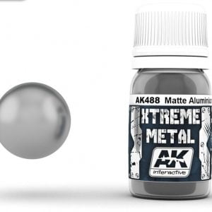 Xtreme Metal Matte Aluminium Paint AK Interactive AKI 488