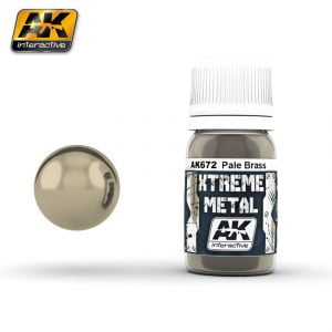 Xtreme Metal Pale Brass Paint AK Interactive AKI 672
