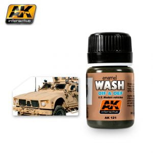 OIF and OEF US Vehicles Wash AK Interactive AKI 121