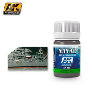 Grey Wash for Kriegsmarine Ships Naval Weathering by AK Interactive AKI 303