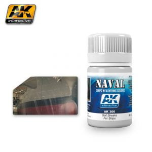 Salt Streaks for Ships Naval Weathering by AK Interactive AKI 306