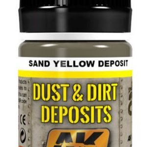 Sand Yellow Deposit by AK Interactive AKI 4061