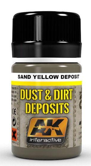 Sand Yellow Deposit by AK Interactive AKI 4061