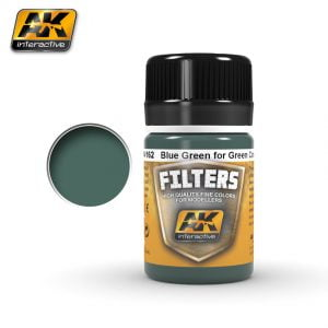 Blue Green for Green Camo Filter by AK Interactive AKI 4162