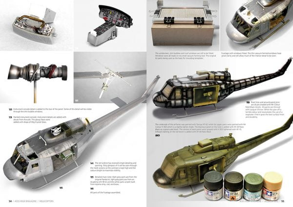 Inside 3 Aces High Issue 09 Hellicopters by AK Interactive AKI