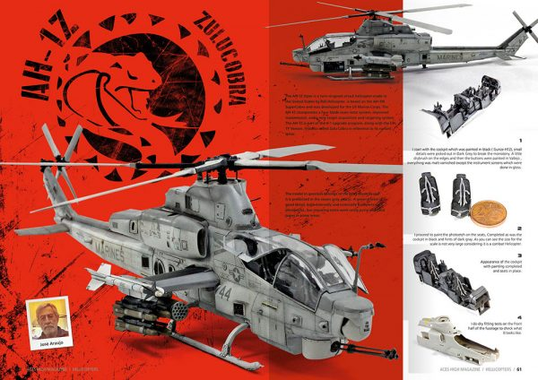 Inside 4 Aces High Issue 09 Hellicopters by AK Interactive AKI