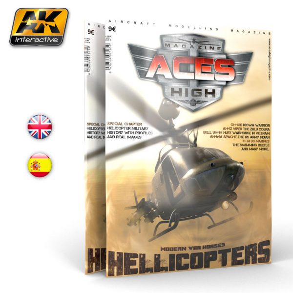 Aces High Issue 09 Hellicopters by AK Interactive AKI