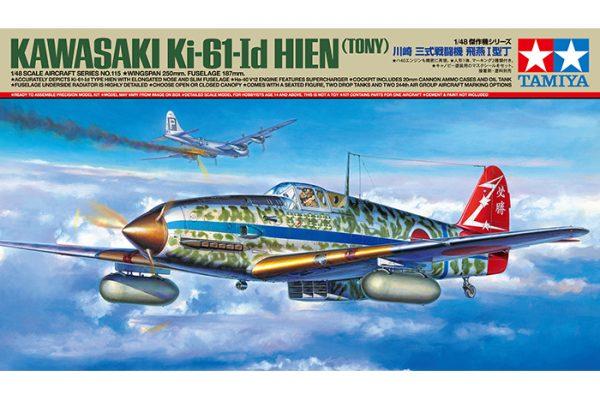 Box Tamiya Kawasaki Ki-61-Id Hien Tony 61115