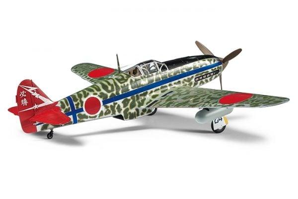Rear View Tamiya Kawasaki Ki-61-Id Hien Tony 61115