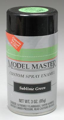 Model Master Car and Truck Spray Paint Sublime Green 2967