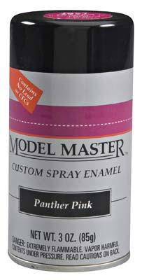 Model Master Car and Truck Spray Paint Panther Pink 2957
