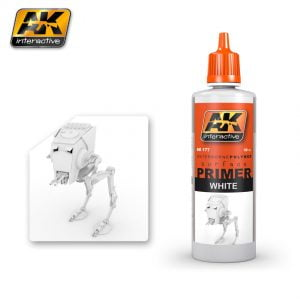 White Primer by AK Interactive AKI 177