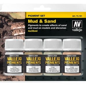 Vallejo Mud and Sand Pigmnet Set 73191