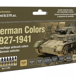 Vallejo German Colors 1927-1941 Paint Set 71205