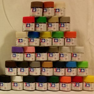 Full Set of 33 X Tamiya Acrylic Paints