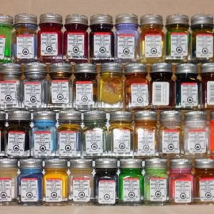 Full Set of 81 Testors Enamel Colors Colours Colors Paints