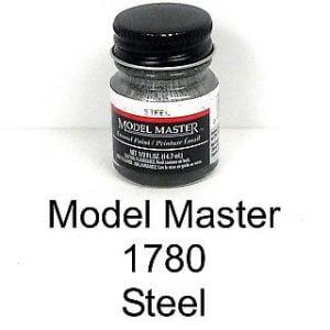 Model Master American FS Enamel Paints Steel 1780