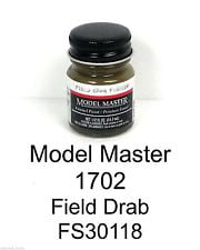 Model Master American FS Enamel Paints Field Drab 170203