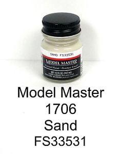 Model Master American FS Enamel Paints Sand 1706