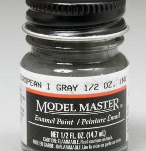 Model Master American FS Enamel Paints Euro I Grey 1788