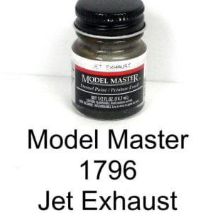 Model Master American FS Enamel Paints Jet Exhaust 1796