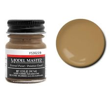 Model Master American FS Enamel Paints Dark Tan 1742