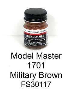 Model Master American FS Enamel Paints Military Brown 170109