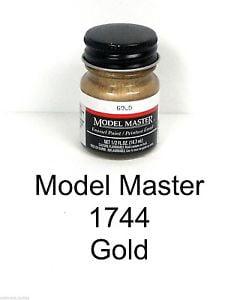 Model Master American FS Enamel Paints Gold 1744