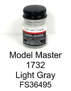 Model Master American FS Enamel Paints Light Grey 1732