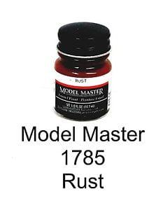 Model Master American FS Enamel Paints Rust 1785