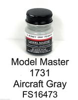 Model Master American FS Enamel Paints Aircraft Grey 1731