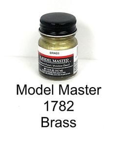Model Master American FS Enamel Paints Brass 1782