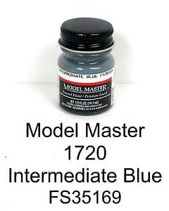 Model Master American FS Enamel Paints Intermediate Blue 1720