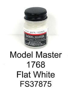 Model Master American FS Enamel Paints White 1768