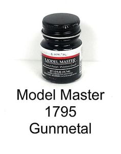 Model Master American FS Enamel Paints Gun Metal 1795
