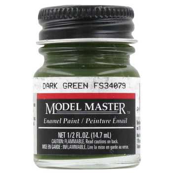 Model Master American FS Enamel Paints Dark Green 171004