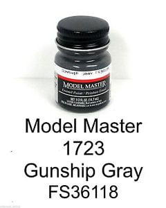 Model Master American FS Enamel Paints Gunship Grey 172305