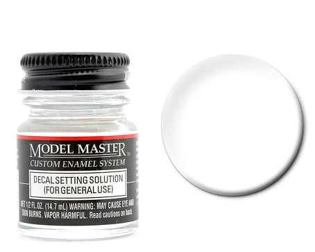 Model Master American FS Enamel Paints Decal Setting Solution 1737